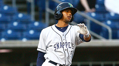 Twins prospect Aaron Hicks was a former first-round pick.
